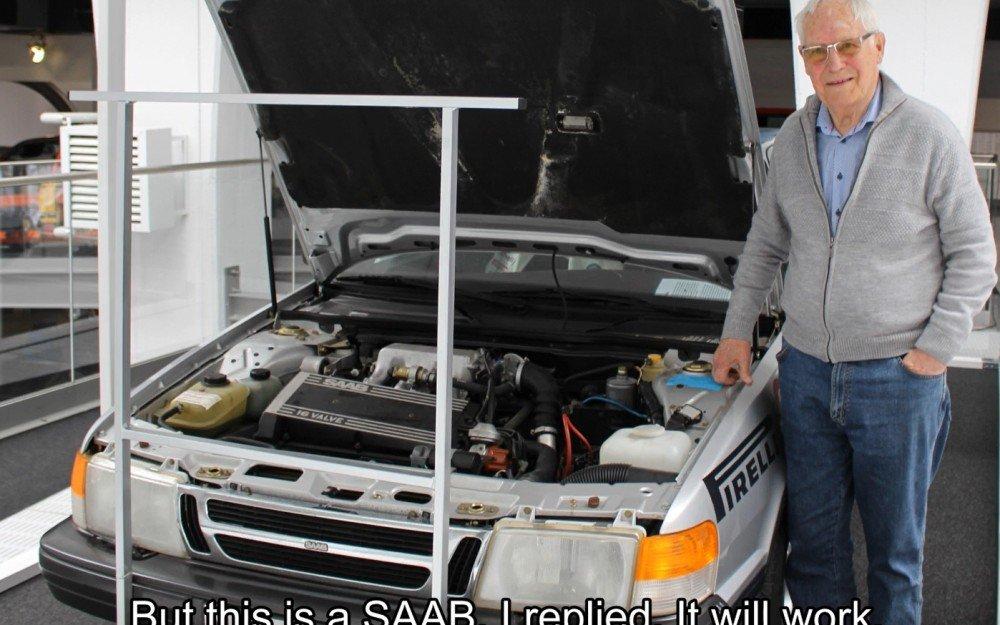 Berättelser från Saab - Innovatums industrihistoriska arbete fortsätter. Olle Granlund på Saab Car Museum.