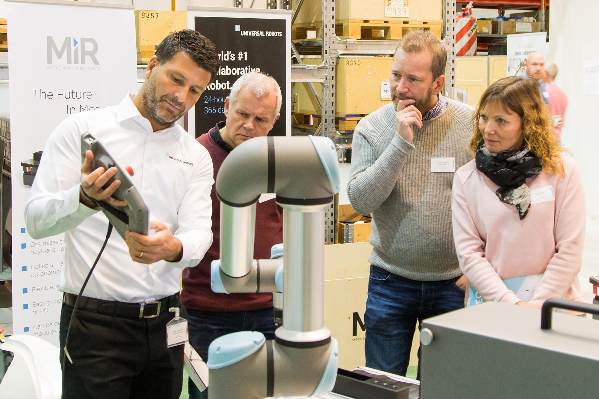 Demo Universal Robots