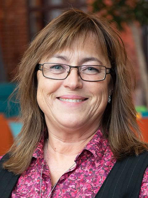 Ann-Charlotte Karlsson, industriell utvecklare och kommunikatör på IUC Väst